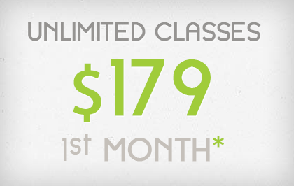 1st Month Unlimited - $179