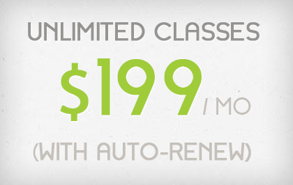 Monthly Unlimited Auto Renew - $219
